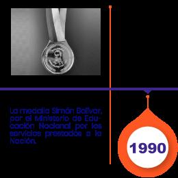 Medalla Simon Bolivar
